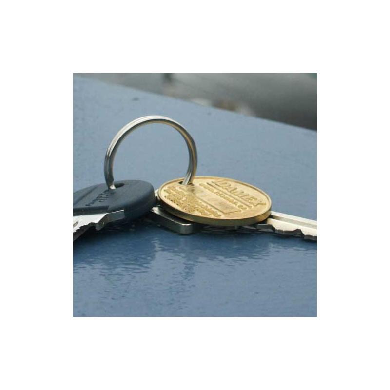 Beställ Idamex nyckelbricka så okar chanserna att få tillbaka borttappade nycklar