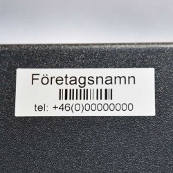 Idamex - streckkodsetiketter - petsäker vinyl 55x19 mm